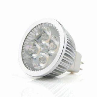 Qyz@mr16 4w Ac/dc 12v Cool White 4 LED Bulb Spot Light Lamp Downlight  Video Projector Lamps  Camera & Photo