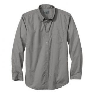 Eddie Bauer Mens Classic Fit Legend Wash Poplin Shirt   Solid at  Men�s Clothing store