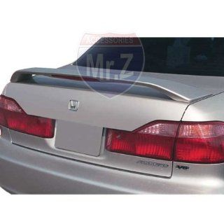 1998 2000 Honda Accord 4D Custom Spoiler Factory Style With LED (Unpainted): Automotive