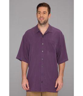 Tommy Bahama Big & Tall Big Tall Catalina Twill Camp Shirt Mens Short Sleeve Button Up (Red)