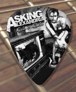 Printed Picks Company Asking Alexandria Reckless Premium Guitar Pick x 5 Medium Musical Instruments