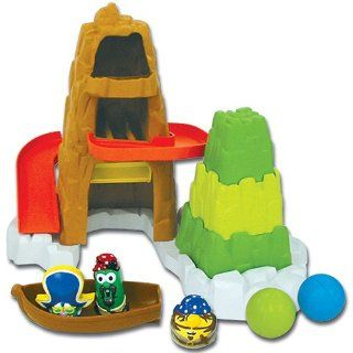 Veggie Tales   Rock Island Tub Toy   The Pirates Who Don't Do Anything: Toys & Games