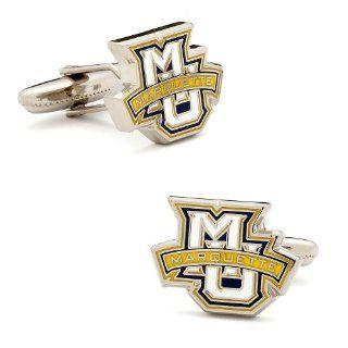 Marquette University Golden Eagle Cufflinks  Cuff Links  Sports & Outdoors