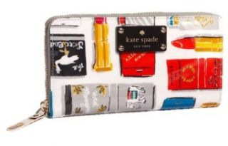 Kate Spade Daycation Neda Matchbook Zip Around Wallet Nwt: Clothing