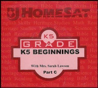 Kindergarten Grade K5 Beginnings   Part C (Incorporate English Skills, Building a Strong Phonics Framework with Songs, Charts, and Activities in a Balanced Approach That Emphasizes Word Meaning) [Multiple DVDS] (BJ HomeSAT Distance Learning): Mrs. Sarah La