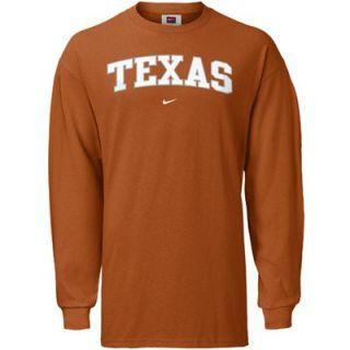 Nike Texas Longhorns Burnt Orange College Classic Long Sleeve T shirt