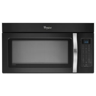 Whirlpool Black Ice 30 in 2 cu ft Over the Range Microwave with Sensor Cooking Controls (Black Ice)