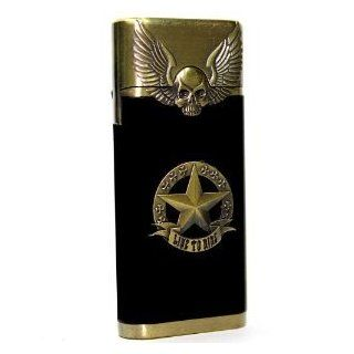 Flying Skull Star Single Jet Flame Refillable Butane Torch Lighter (Only a Little Butane Inside for Test Due to Shipping Safety)  Other Products