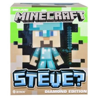Minecraft 6 Inch Figure   Vinyl Diamond Steve