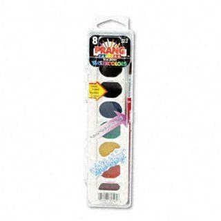 Prang   Washable Watercolor Paint, Eight Assorted Colors per Set  Art Paints