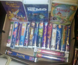 Lot of 20 Disney Movies VHS  Other Products