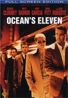 Ocean's Eleven (Full Screen Edition): Don Cheadle, George Clooney, Holly Marie Combs, Matt Damon, Michael de Lano, Angie Dickinson, John Fiore, Eydie Gorme, Elliott Gould, Joshua Jackson, Dave Jensen, Joe La Due, Jim Lampley, Steve Lawrence, Bernie Mac