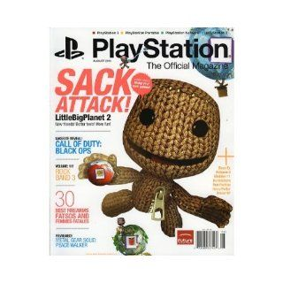Playstation Magazine; August 2010 (Mafia II; Little Big Planet 2) (Call of Duty: Black Ops; Sack Attack!, Rock Band 3): Playstation Magazine: Books