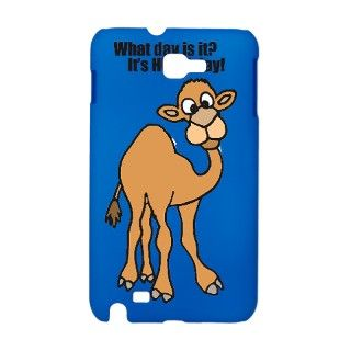 Funny Hump Day Camel Cartoon Galaxy Note Case by ADMIN_CP18688062