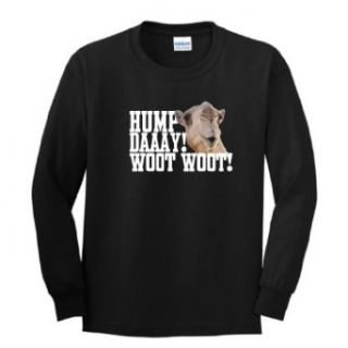 Hump Day Woot Camel Wednesday Youth Long Sleeve T Shirt: Clothing