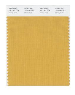 PANTONE SMART 15 1142X Color Swatch Card, Honey Gold   Wall Decor Stickers