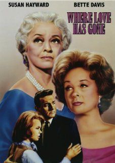 Where Love Has Gone: Susan Hayward, Bette Davis, Mike Connors, Jane Greer, DeForest Kelley, George Macready, Joey Heatherton, Edward Dmytryk, Joseph E. Levine, John Michael Hayes, Harold Robbins: Movies & TV
