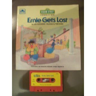 Sesame Street, Ernie Gets Lost, with Jim Henson's Muppets, Paperback book and Cassette Liza Alexander Books