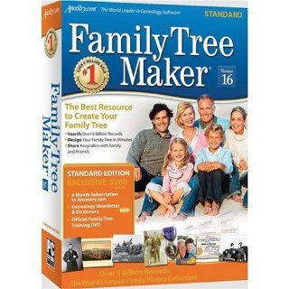 Family Tree Maker Version 16 Standard Sb Cs By Family Tree Maker Software