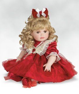 "Marie Osmond Doll, 20"" Paradise Holiday Rose, a Beautiful Christmas Doll Sculpted by Marie Osmond Herself"