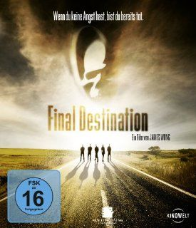 Final Destination: Devon Sawa, Ali Larter, Kerr Smith, Kristen Cloke, Daniel Roebuck, Roger Guenveur Smith, Chad Donella, Seann William Scott, Tony Todd, Amanda Detmer, Brendan Fehr, Forbes Angus, James Wong, Art Schaefer, Brian Witten, Chris Bender, Craig