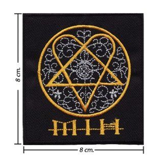 Him Heartagram Music Band Style 1 Embroidered Sew On Applique: Everything Else