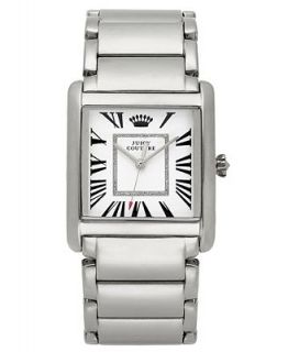 Juicy Couture Watch, Womens Darby Stainless Steel Bracelet 35x30mm 1901056   Watches   Jewelry & Watches