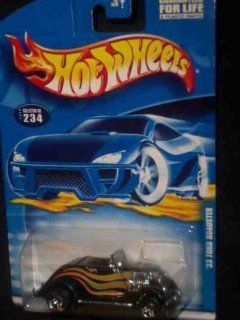 #2000 234 1933 Ford Roadster Pr 5 2001 card Collectible Collector Car Mattel Hot Wheels Toys & Games