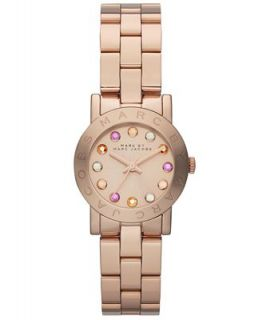 Marc by Marc Jacobs Watch, Womens Amy Rose Gold Tone Stainless Steel Bracelet 26mm MBM3219   Watches   Jewelry & Watches