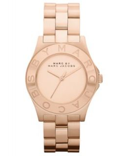 Marc by Marc Jacobs Watch, Womens Chronograph Henry Rose Gold Ion Plated Bracelet MBM3074   Watches   Jewelry & Watches