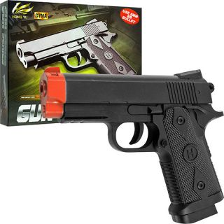 Whetstone CYMA HY.207 6mm Airsoft Pistol With Laser Targeting System, Black: Outdoor Sports
