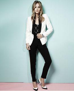 W118 by Walter Baker Jacket, Long Sleeve Tuxedo Blazer   Jackets & Blazers   Women