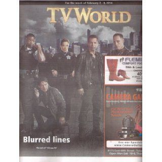 John Seda, Jesse Lee Soffer, Archie Kao, Tania Raymonde, Mykelti Williamson, Chicago PD   February 2 8, 2014 TV World Magazine/Directory [OVER SIZED!]: TV World: Books