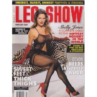 Feb 2003 Leg Show Magazine: Dian Hanson: Books