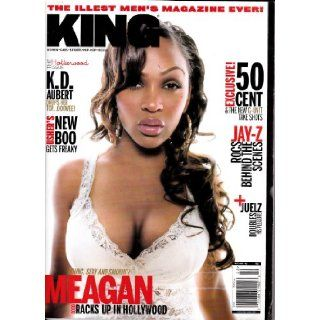 "KING MAGAZINE #22 OCTOBER/NOVEMBER 2005 ""MEAGAN GOOD"": Various: Books"