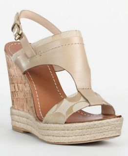 COACH MENDEZ WEDGE   Coach Shoes   Handbags & Accessories
