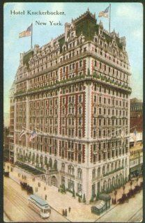 Hotel Knickerbocker New York City postcard 191? Entertainment Collectibles
