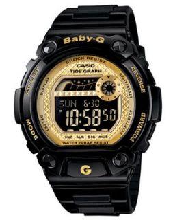 Baby G Watch, Womens Digital BLX Series Black Resin Strap BLX100 1C   Watches   Jewelry & Watches