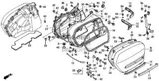 HONDA 81282 MCA 000ZP MLDG, R. RR. *Y181P* ONLY item #15 in diagram included. MLDG, R. RR. *Y181P: Automotive