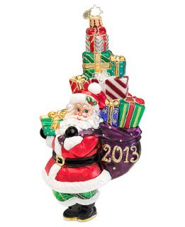 Christopher Radko A Holly Jolly Year 2013 Annual Ornament   Holiday Lane
