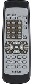 Clarion RCB177 Replacement Remote Control for MAX675VD, MAX675VDII, VRX765VD, VRX775VD : Vehicle Audio Video Remote Controls : Car Electronics
