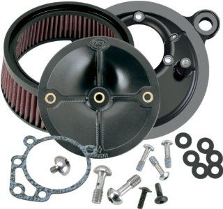 S&S Cycle Super Stock Stealth Air Cleaner Kit   Harley Davidson Dyna/Road Glide 1993 1998 / FXR 1999 / Heritage Softail/Softail 1993 1999 / Sport Glide 1993 / Super Glide 1993 1994   170 0057 Automotive
