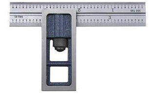 "PEC Double Square   Model: 7105 166 Blade Length: 6""   Construction Rulers"