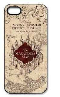 Marauders Map Hard Case for Apple Iphone 5/5S Caseiphone 5 156: Cell Phones & Accessories
