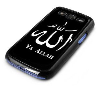 Black Snap on Samsung Galaxy S3 Phone Cover Case  Muslim Allah Quran S3 spc 152 nes Design: Cell Phones & Accessories