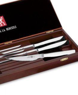 Wusthof 8 Piece Stainless Steel Steak Knives Presentation Set   Cutlery & Knives   Kitchen