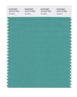PANTONE SMART 16 5119X Color Swatch Card, Sea Blue   Wall Decor Stickers