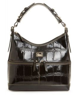 Dooney & Bourke Handbag, Croc Printed Zipper Pocket Sac   Handbags & Accessories