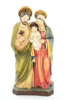 Holy Family Statue Baby Jesus the Virgin Mary and Saint Joseph Roman Catholic Christian Religious Figurine Figure D18200