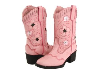 Roper Kids Western Lights Cowboy Boots (Toddler/Little Kid) Pink/Pink